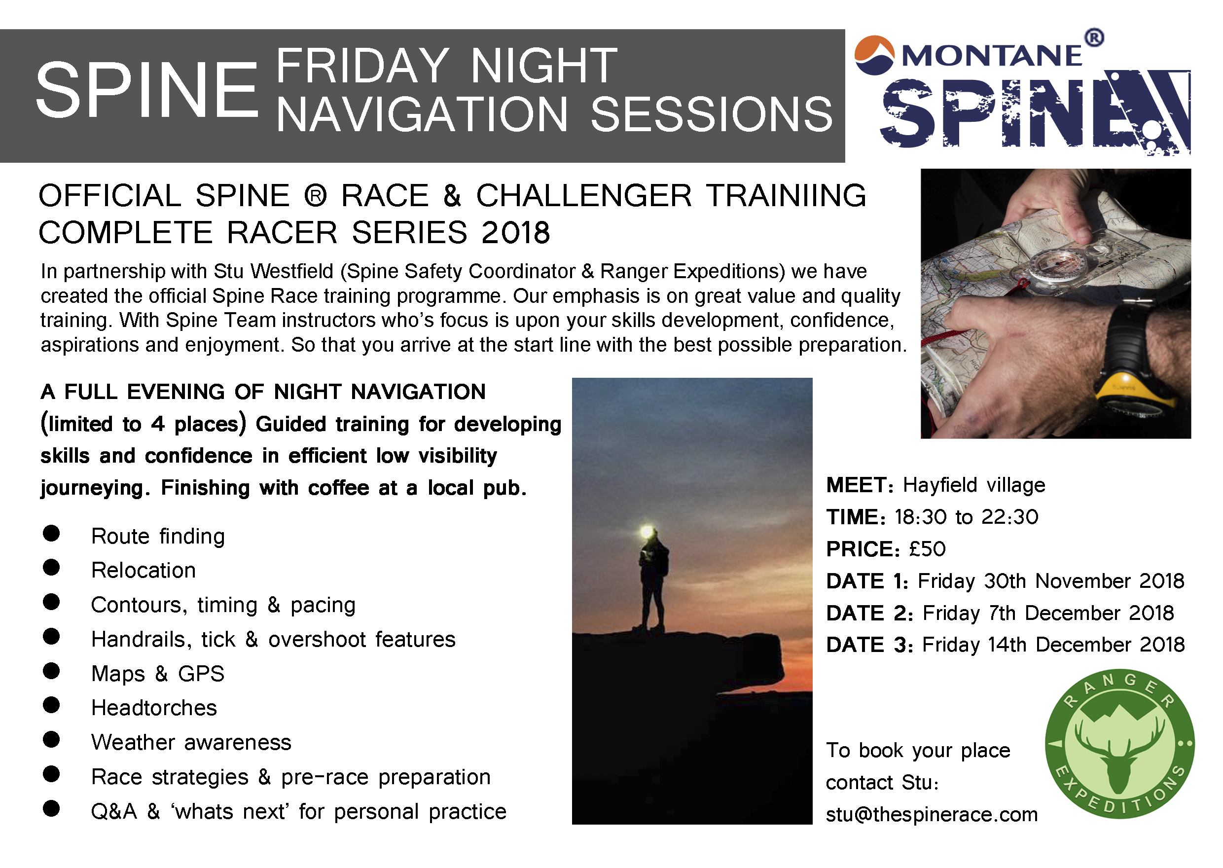 Official Spine Training - Night Navigation