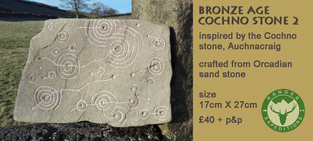 Bronze Age Stone #03 - Cochno 2 - ONE AVAILABLE