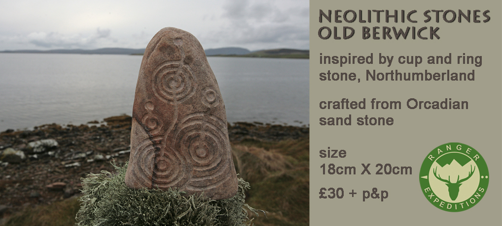 Neolithic Stone #02 - Old Berwick - ONE AVAILABLE