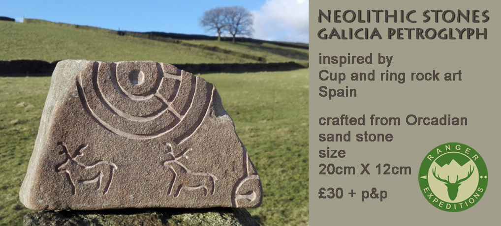 Neolithic Stone #03 - Galicia - ONE AVAILABLE