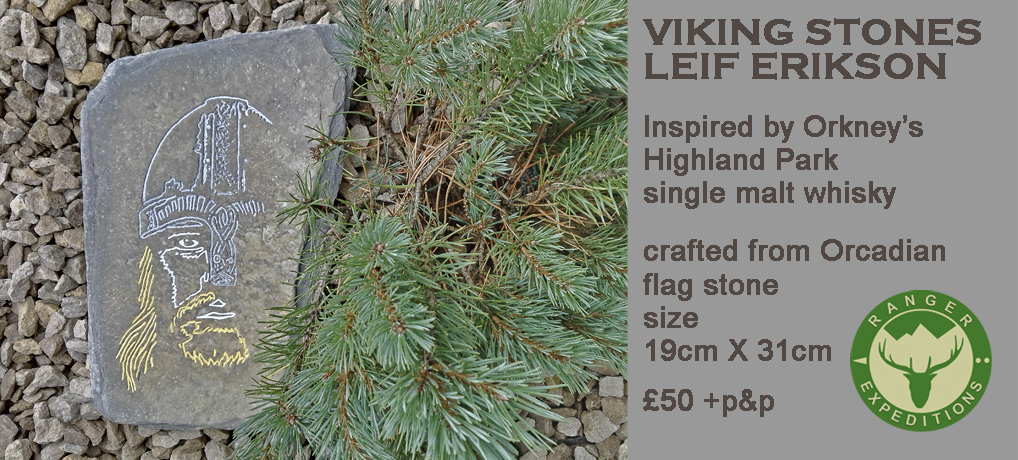 Viking Stone #01 - Leif Erikson - ONE AVAILABLE
