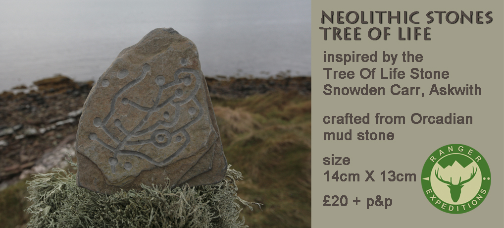 Neolithic Stone #01 - Tree Of Life - ONE AVAILABLE