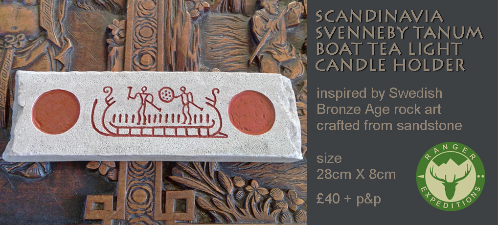 Scandi Stone #5 - Sven Tanum Boat - ONE AVAILABLE